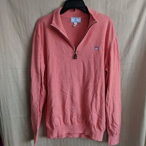 Southern Tide Sweaters - Mens Southern Tide The Skipjack 1/4 Zip Sweater L